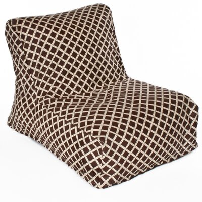 Cade Bean Bag Lounger Upholstery: Brown