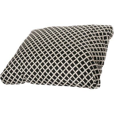 Arellano Dog Pillow Size: Large (44 L x 36 W), Color: Black