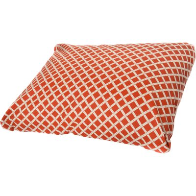 Abner Dog Pillow Size: Small (26 L x 20 W), Color: Orange