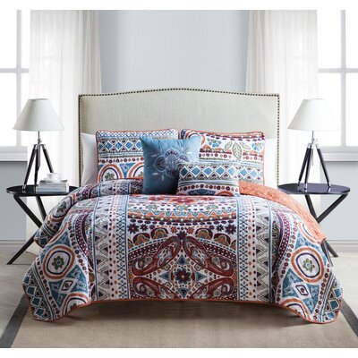 Blagg Quilt Set Size: King