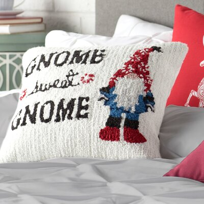 Gnome Winter Pillow Cover
