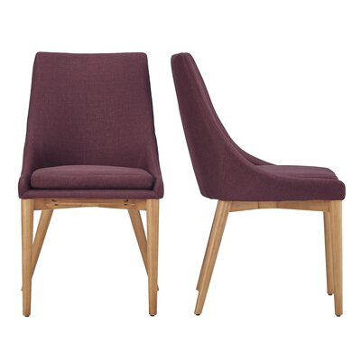 Blaisdell Side Chair Upholstery: Tawny Port