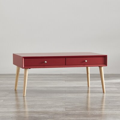 Blakeney Coffee Table Color: Samba Red
