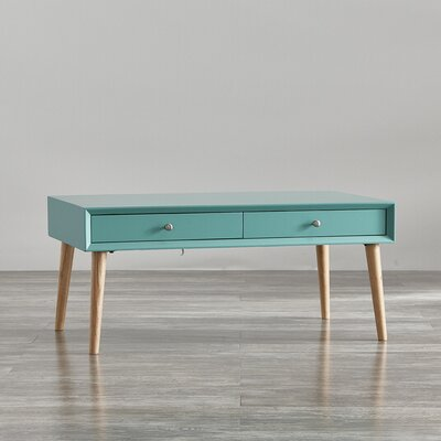 Blakeney Coffee Table Color: Marine Green