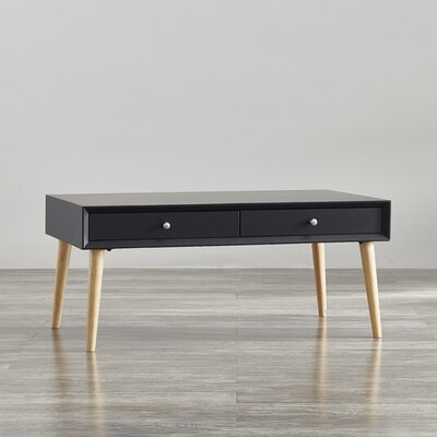 Blakeney Coffee Table Color: Vulcan Black