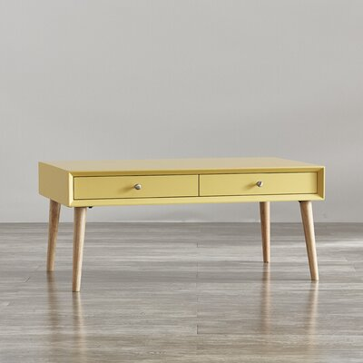 Blakeney Coffee Table Color: Yellow