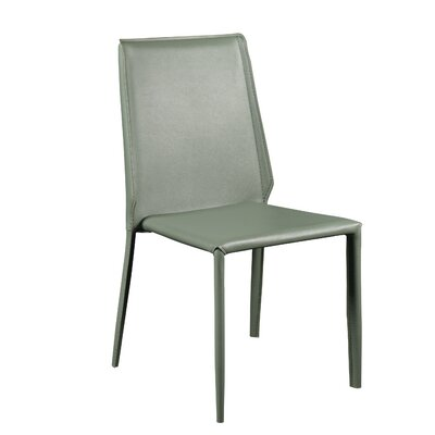 Blaker Side Chair (Set of 4) Upholstery: Green