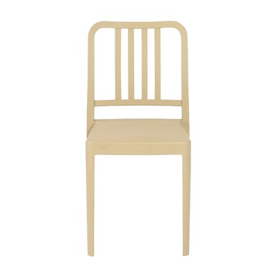 Vassallo Side Chair (Set of 4) Finish: Taupe