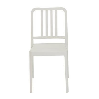 Vassallo Side Chair (Set of 4) Finish: White