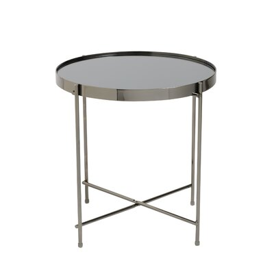 Blalock End Table Finish: Black