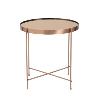 Blalock End Table Color: Copper