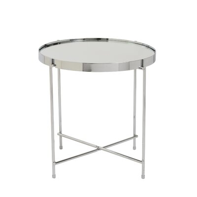 Blalock End Table Color: Chrome