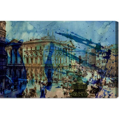 'Picadilly' Graphic Art on Wrapped Canvas Size: 10