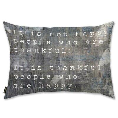 Happy People Lumbar Pillow