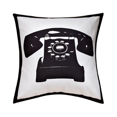 Masie Telephone Decorative Throw Pillow