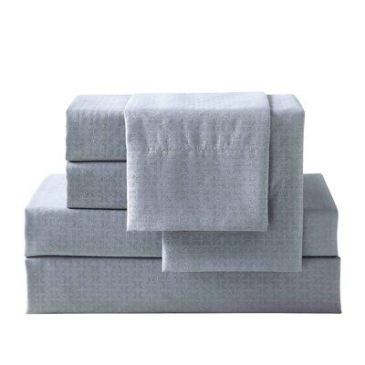 Bolyard 6 Piece Sheet Set Size: King, Color: Grey