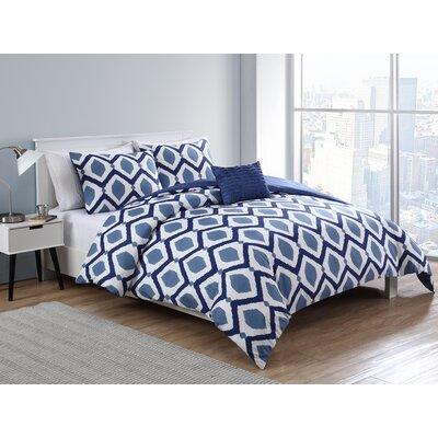 Bunce 4 Piece Full/Queen Comforter Set