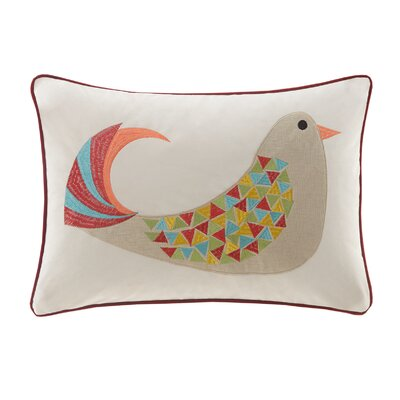 Holiday Partridge Lumbar Pillow