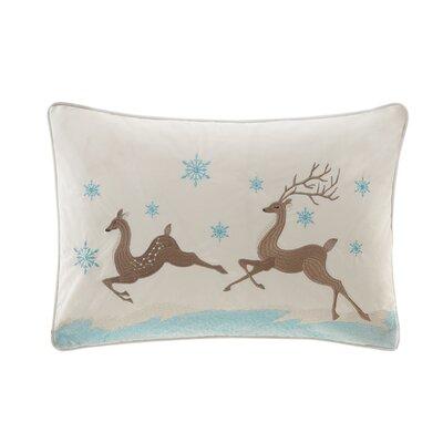 Winter Prancers Lumbar Pillow
