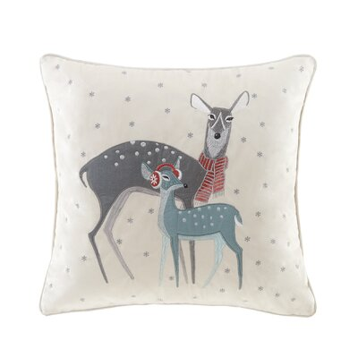 Wonderland Deer Throw Pillow