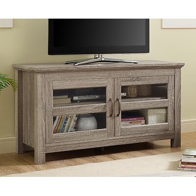 Dunmore 44 Wood TV Stand Color: Driftwood