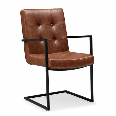 Venezia Armchair Upholstery: Brown