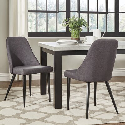 Buttars Parsons Chair Color: Dark Gray