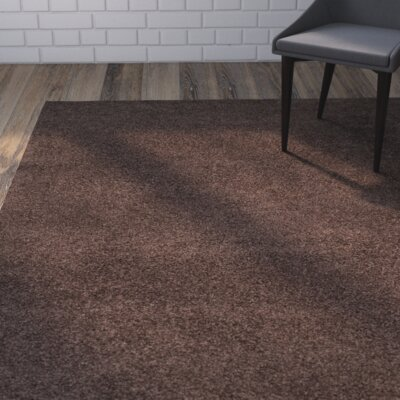 Austral Brown Area Rug Rug Size: 67 x 96