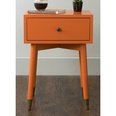 Blubaugh Weeks End Table Finish: Orange