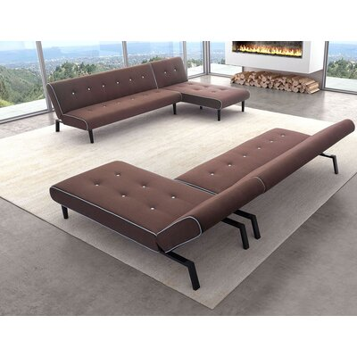 Mercury Row MCRR4454 27277031 Varda Sleeper Sectional Upholstery