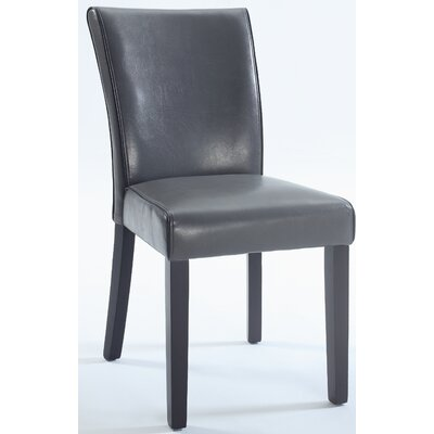 Blaylock Parsons Chair (Set of 2) Finish: Grey