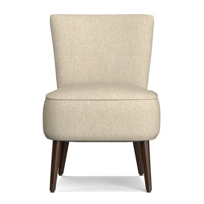 Cureton Blaylock Slipper Chair Upholstery: Barley Tan