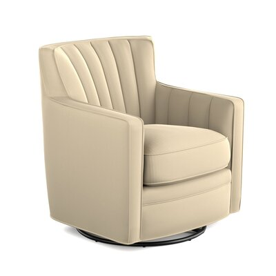 Bleadon Swivel Arm Chair Upholstery: Oatmeal