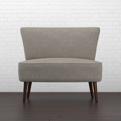Cureton Slipper Chair Upholstery: Dove Gray