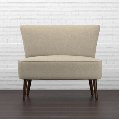 Cureton Slipper Chair Upholstery: Barley Tan