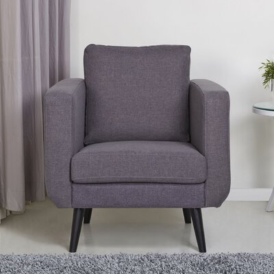 Bleeker Armchair Finish: Dark Gray