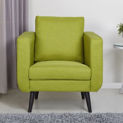 Bleeker Arm Chair Finish: Lime