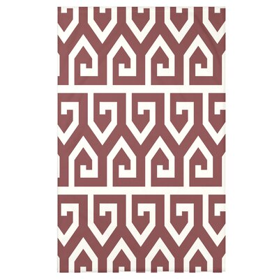 Boykin Keyed Up Geometric Print Throw Blanket Size: 50 H x 60 W x 0.5 D, Color: Orange