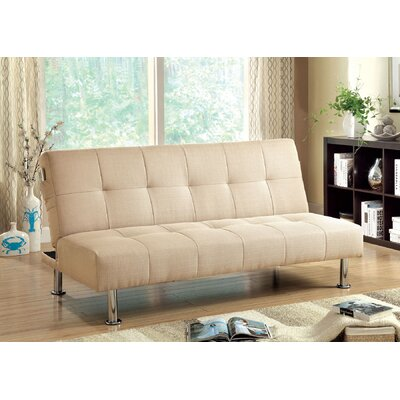 Boddie Convertible Sofa Upholstery: Ivory