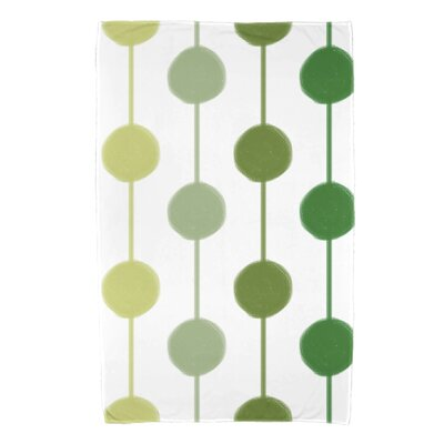 Leal Brady Beads Bath Towel Color: Green