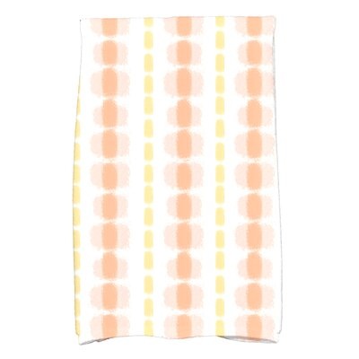 Leal Watercolor Stripe Hand Towel Color: Yellow