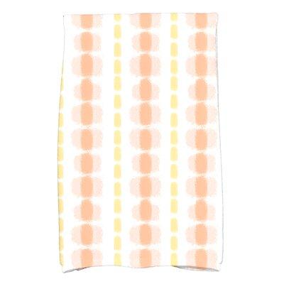 Eisner Watercolor Stripe Hand Towel Color: Yellow