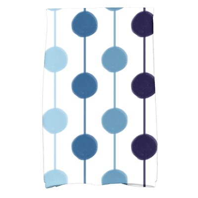 Leal Brady Beads Hand Towel Color: Navy Blue