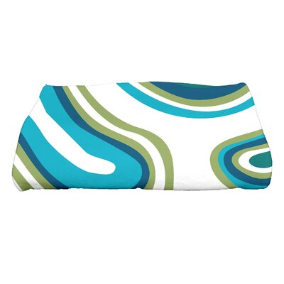 Block Novelty Bath Towel Color: Teal