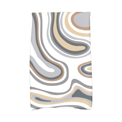 Buenrostro Agate Novelty Print Hand Towel Color: Taupe/Beige