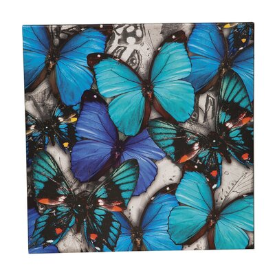 'Butterflies' Painting Print on Canvas