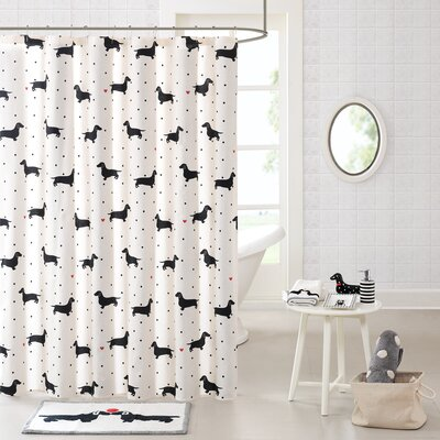 Cotton Printed Shower Curtain