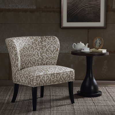 Prescott Wingback Chair Upholstery: Taupe / Multi