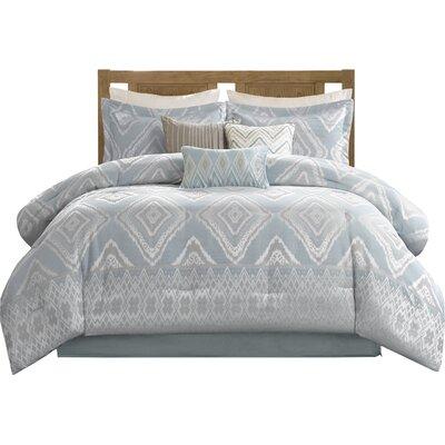 Lollis 7 Piece Comforter Set Size: Queen