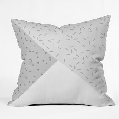 Kester Square Indoor/Outdoor Throw Pillow Size: 18